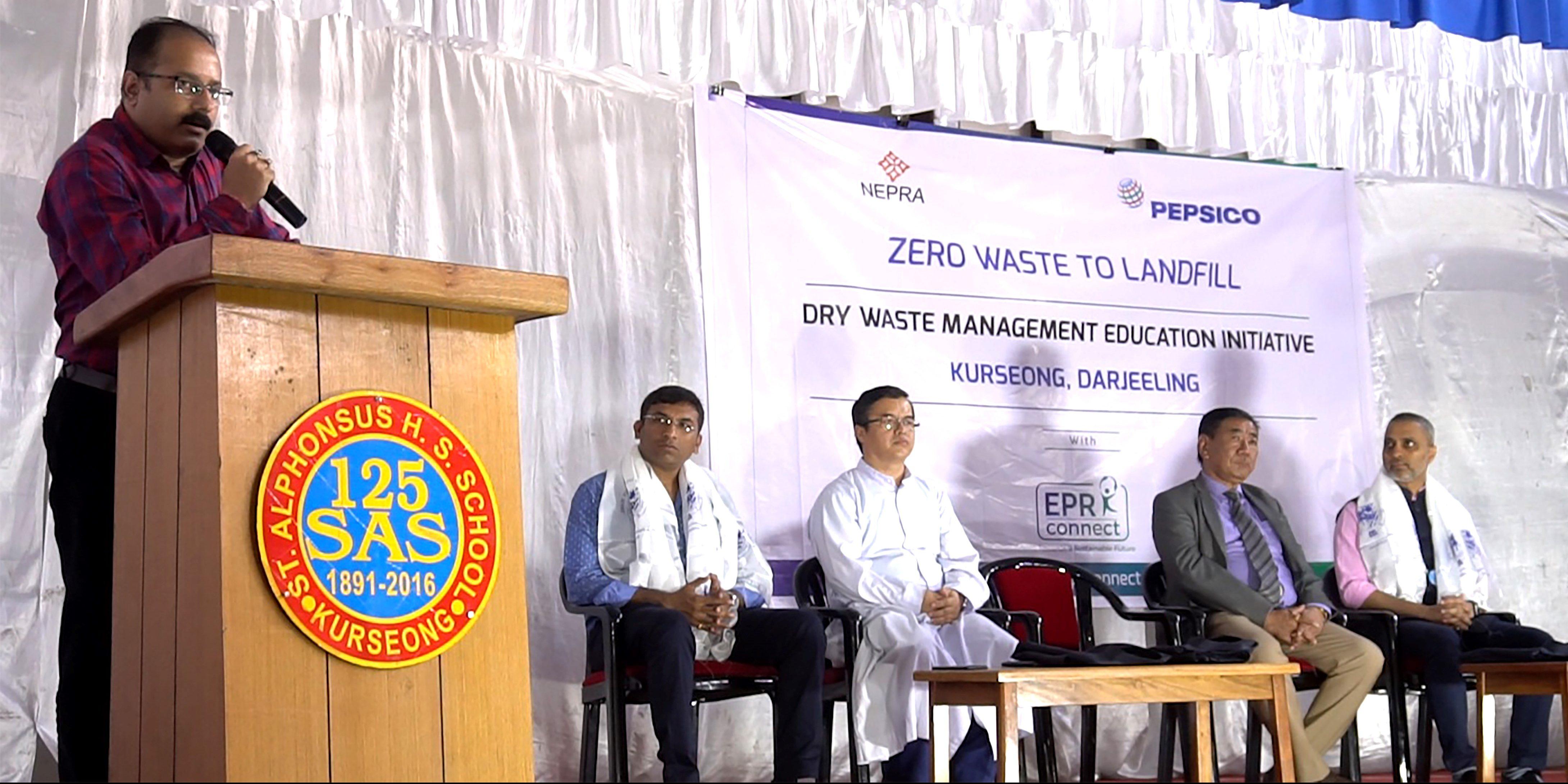 PepsiCo India and Nepra Launches Plastic Waste Management